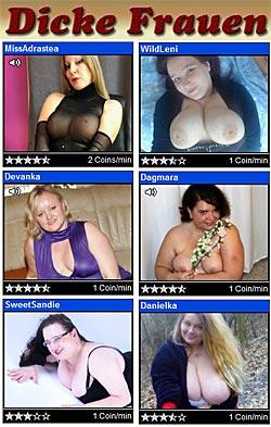 Dicke fette Frauen Live Cams