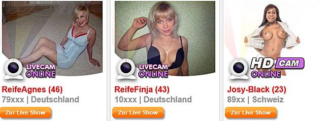 reife Milfs live